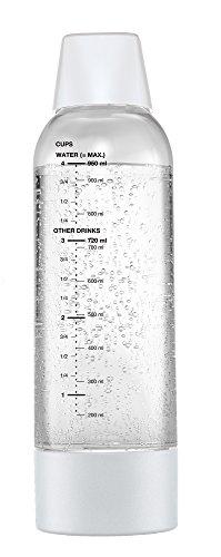 グリーンハウス ツイスパソーダ用 スペアボトル 容量950ml ホワイト SODAA-BT1W...