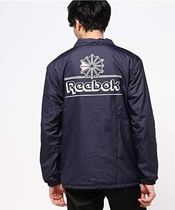 Reebok CLASSIC( リーボック クラシック )コーチジャケット/ブルゾン/トラック トップ/ウインドブレーカー/ナイロン スポーツ カジュアル ウェア メンズ レディース rb (S, ネイビー)