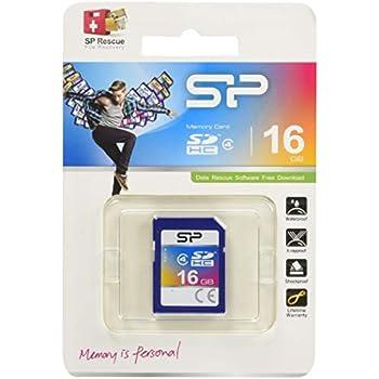 シリコンパワー SDカード 16GB Class4 永久保証 SP016GBSDH004V10
