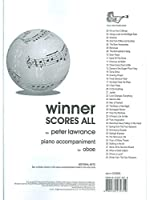 Arr. Peter Lawrance: Winner Scores All For Oboe - Piano Accompaniment Book. For ピアノ伴奏