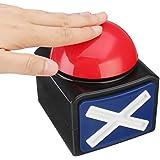 ブザーアラームプッシュボタン宝くじトリビアクイズゲーム赤と光と音と光