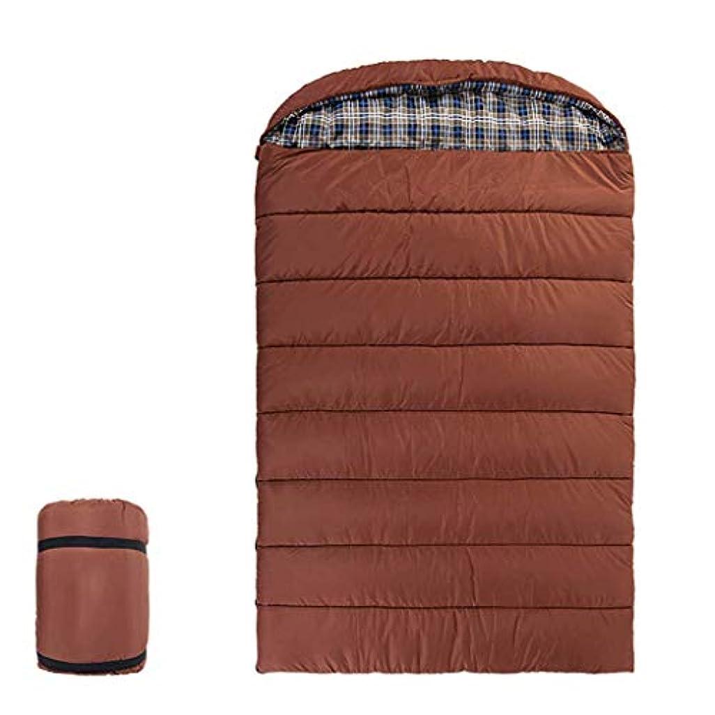 肉実り多い十分に屋外3人家族封筒寝袋キャンプ旅行アダルトポータブル (色 : 1#, サイズ さいず : (74.80+11.81)*55.11in)
