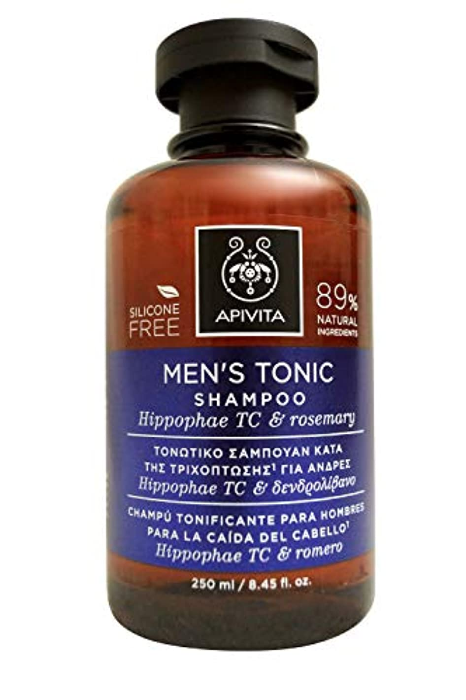 ヶ月目集中的な刈り取るアピヴィータ Men's Tonic Shampoo with Hippophae TC & Rosemary (For Thinning Hair) 250ml [並行輸入品]