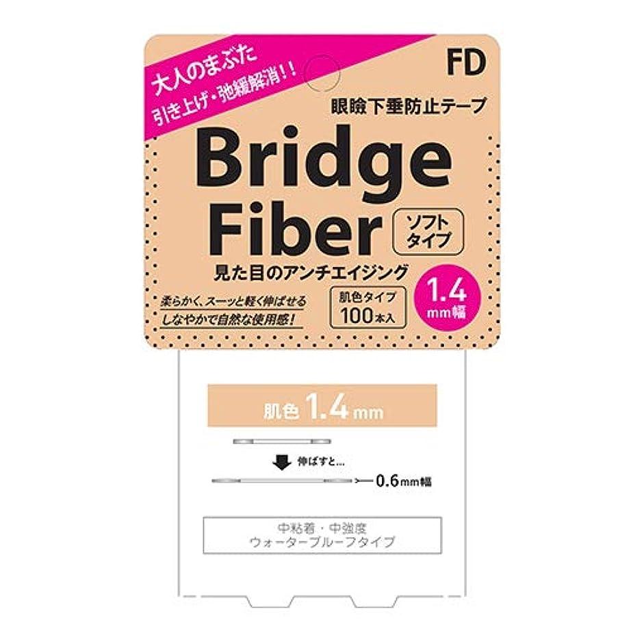 わずかな救援分注するFD ブリッジファイバーソフト (Bridge Fiber Soft) 肌色(ヌーディー) 100本入 1.4mm