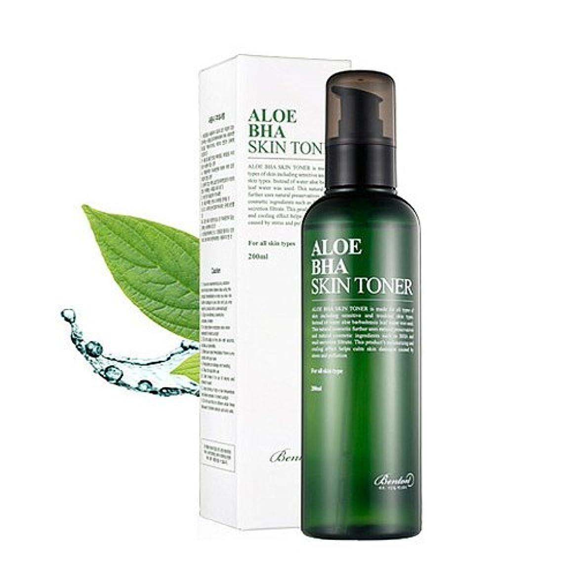 乱用研究所素晴らしい良い多くの(3 Pack) BENTON Aloe BHA Skin Toner (並行輸入品)