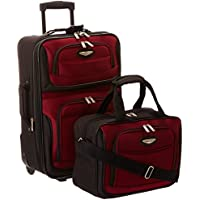 Traveler's Choice Amsterdam Two Piece Carry-on Luggage Set