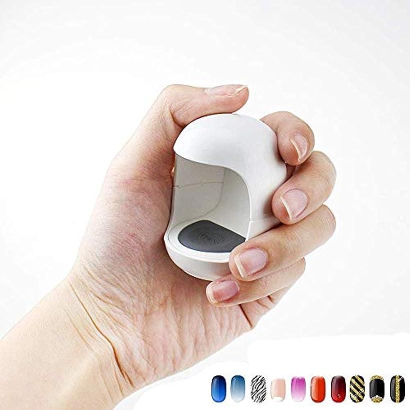 個人的に通知する合成UV LEDネイルランプミニQ型USBケーブルマニキュア素材ネイルドライヤージェルランプキュアライトシングルネイルポリッシュマニキュアツール