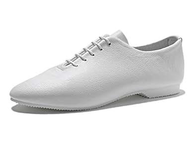 CROWN ジャズシューズ (Dance Jazz) (White / 10)