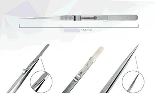 STARDUST 帯電防止 ストレート 精密 極細 修理 修復 ピンセット SD-JM-T9-11