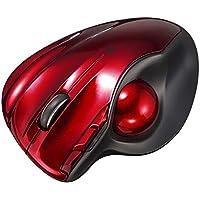 サンワサプライ Bluetooth4.0トラックボール レッド MA-BTTB1R
