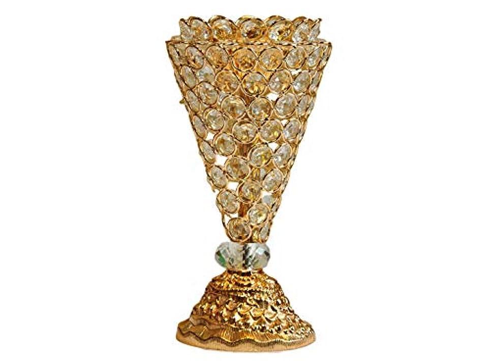 滞在識字ピルファーArabia Incense/bakhoor Burner (Mabkhara) – Oud Burner、メタル、トレイ内側10インチ