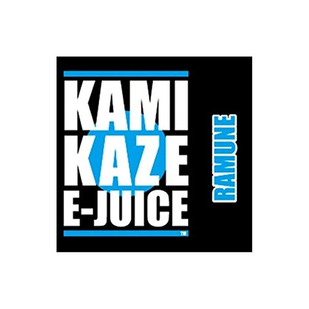 一瞬シェル識字KAMIKAZE E-JUICE カミカゼ ラムネフレーバー RAMUNE 電子タバコ 日本製国産 リキッド 15ml 2本