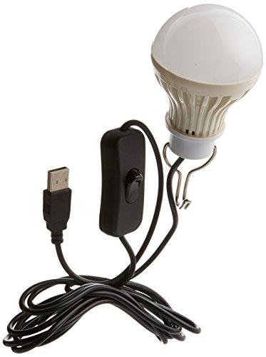 Onite ポータブル 電球形 USB LED 電球 USB...
