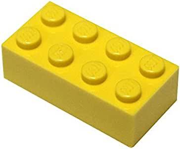 Lego Yellow Brick 1X6 25 Pieces NEW