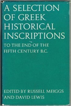 Download A Selection of Greek Historical Inscriptions: To the End of the Fifth Century B.C. Ed.R.Meiggs & D.Lewis v. 1 0198142668
