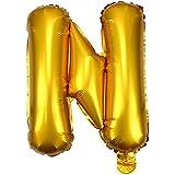 ウェディングパーティーの装飾風船 16インチゴールド数字箔風船手紙ヘリウムバルーンインフレータブルフェスタcasamento結婚式誕生日バルーンパーティー用品 結婚式、お祝い、踊り、告白に適しています