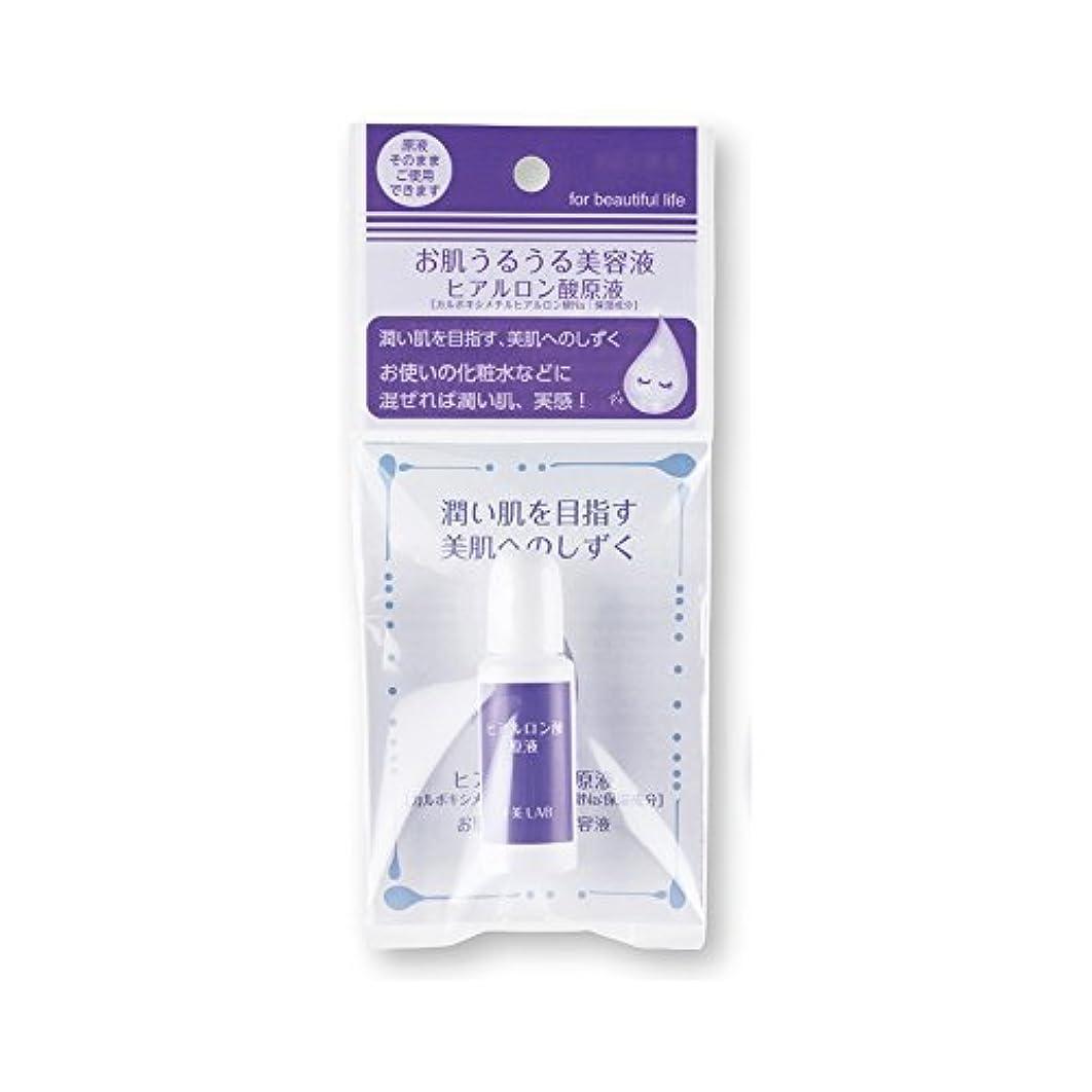 充電魅惑する唯一十美LAB 美肌へのしずく お肌うるうる美容液 〈ヒアルロン酸原液〉 (14mL)