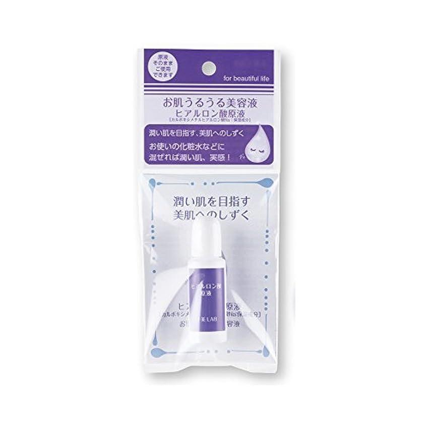 アプトルームラウズ十美LAB 美肌へのしずく お肌うるうる美容液 〈ヒアルロン酸原液〉 (14mL)