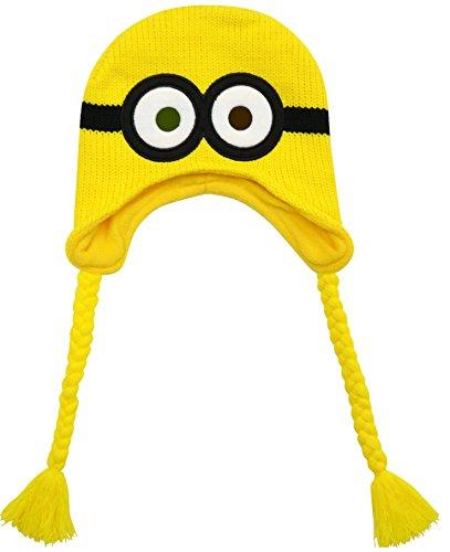 ミニオン ニット帽 帽子 ボブ 変身 なりきり 仮装 8491
