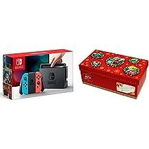 Nintendo Switch Joy-Con (L) ネオンブルー/ (R) ネオンレッド プレゼント用ギフトボックスセット