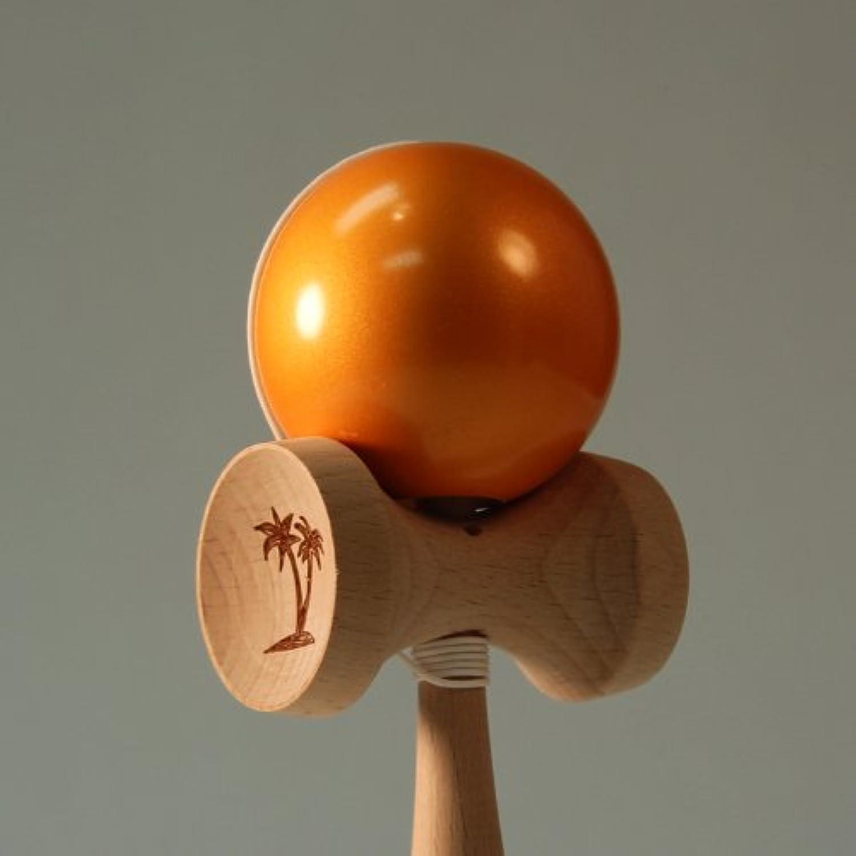 The Original Bahama Kendama Metallics - Metallic Orange