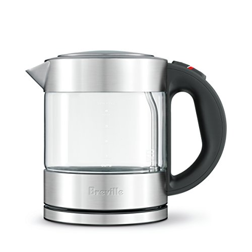 Breville Compact Kettle, Brushed Stainless Steel BKE395BSS