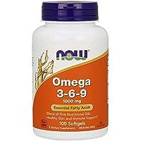 [海外直送品] ナウフーズ 植物性オメガ3・6・9脂肪酸 1000mg(必須脂肪酸ミックス)