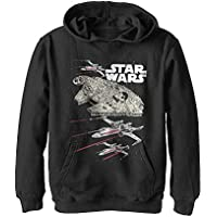 STAR WARS Boys' Hooded Pullover Fleece