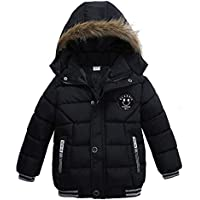 2020 Winter Child Boy Down Jacket Parka Big Girl Thicking Warm Coat 2 3 4 5 6 Year Light Hooded Outerwears