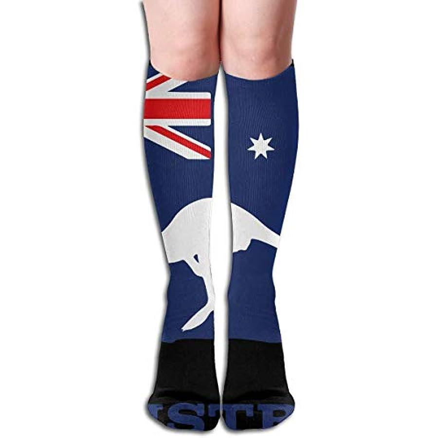 おなかがすいた突き刺す傭兵オーストラリアスカイラインシルエットソックスクリスマスシルエットソックス休暇シルエットオーストラリア人柄旗