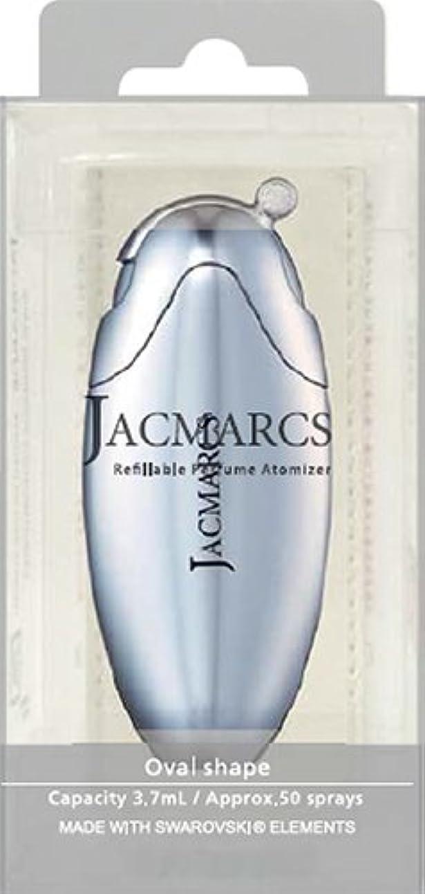 登るランドマーク揮発性メイクアップ ジャックマルクス パフューム アトマイザー オーバルシェイプ クローム 21 5.2mL 4517989165218