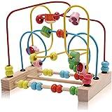 ROZZERMAN ビーズコースター ルーピング おもちゃ アクティビティキューブ 子ども 知育玩具 玩具 子供と遊ぶ大切な時間
