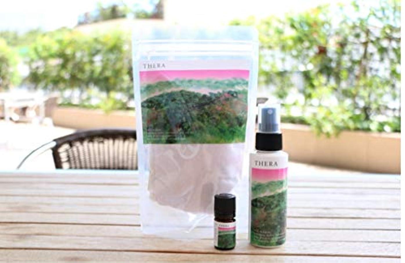 反発爵潤滑するTHERA(テラ) 吉野ひのきの香り袋 50g