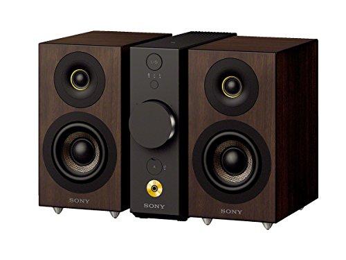 ソニー SONY コンパクトオーディオシステム CAS-1 : ハイレゾ/Bluetooth対応 ヘッドホンアンプ搭載 ブラック CAS-1 B