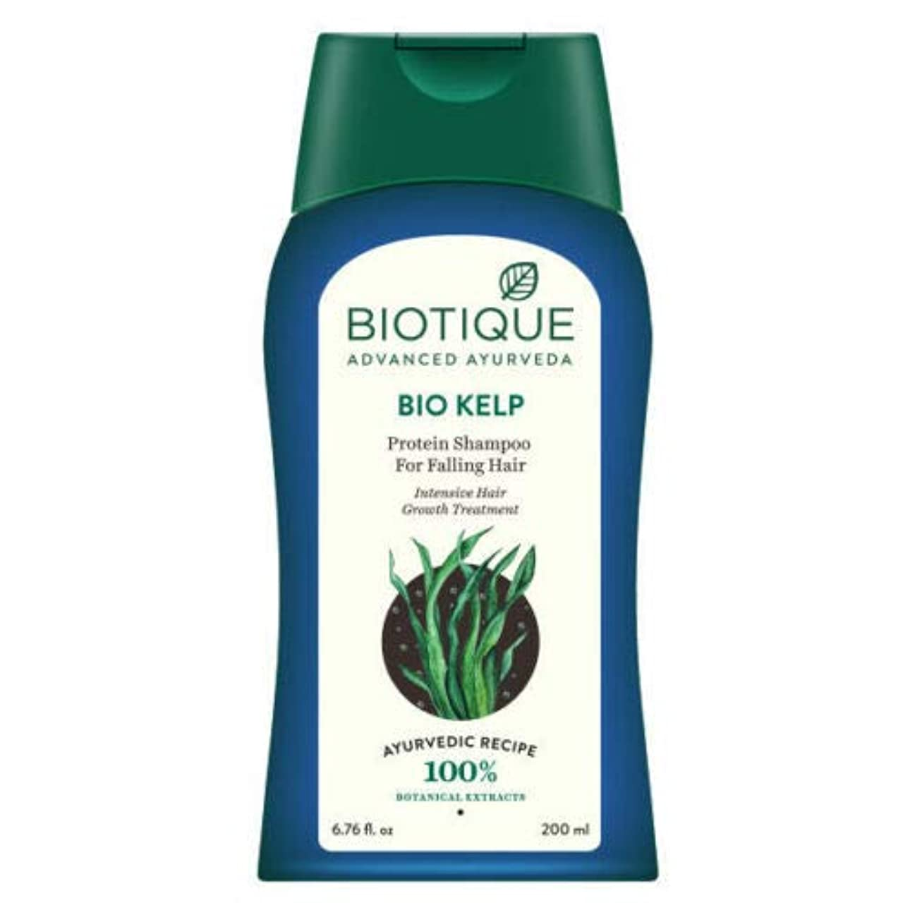 Biotique Bio Kelp Protein Shampoo For Falling Hair (200 ml) 100% Natural Recipe 落下の毛100%の自然な調理法のためのBiotiqueのバイオケルプ...