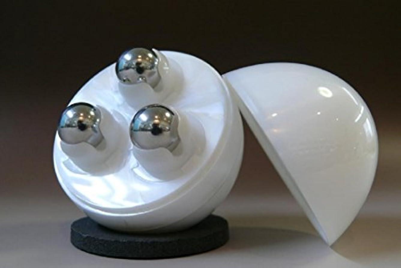 石炭一月胚ゆびたまご3 美顔ローラー ユビタマゴ3 ホワイト