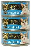ピュリナ 味キラリ ゼリー まぐろと糸より鯛 80g×3缶