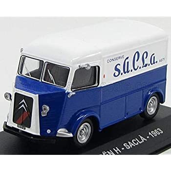CITROEN シトロエン デリバリーバン タイプH イタリア 食品メーカーサクラ社 仕様 TYPE-H VAN SACLA 1963 1/43 ダイキャスト モデル ミニカー [並行輸入品]