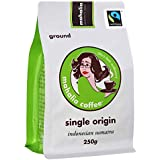Mahalia Coffee Fair Trade Organic Sumatra Plunger Grind (250)