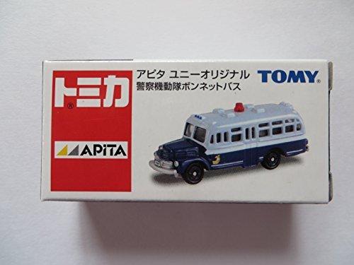 TOMYトミカ【アピタ ユニーオリジナル】警察機動隊 ボンネットバス