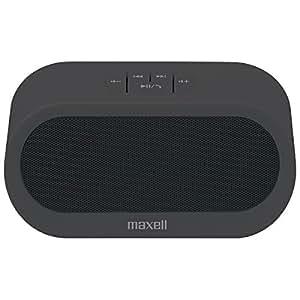 日立マクセル Bluetooth+NFC搭載ポータブルスピーカー (ブラック) MXSP-BT04BK