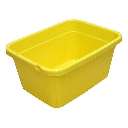 [해외]코난 오리지널 컬러 대야 (YE) 60L ZQ21 자 6303 옐로우/Cornan Original Color Tarai (YE) 60 L ZQ 21 - 6303 Yellow