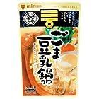 ミツカン ごま豆乳鍋つゆストレート750g×12袋入×(2ケース)