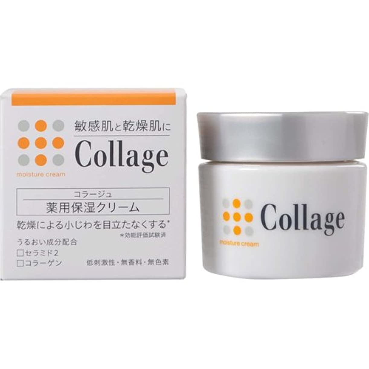 感じる昼間横コラージュ 薬用保湿クリーム 30g 【医薬部外品】