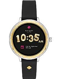 [ケイト・スペード ニューヨーク] 腕時計 SCALLOP TOUCHSCREEN SMARTWATCH タッチスクリーンスマートウォッチ KST2006 レディース 正規輸入品 ブラック