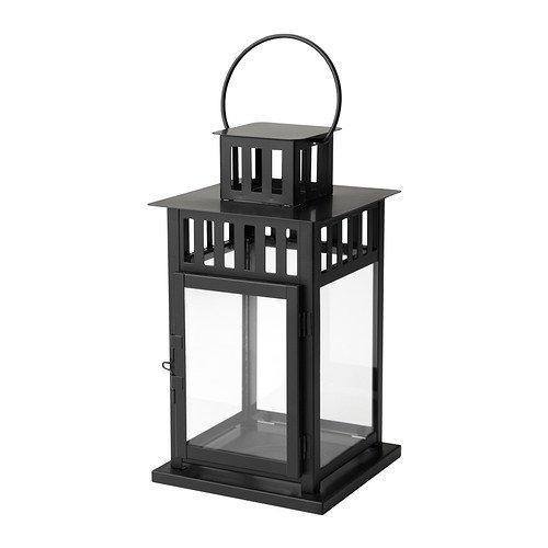 RoomClip商品情報 - IKEA(イケア) BORRBY 50156112 ブロックキャンドル用ランタン, ブラック