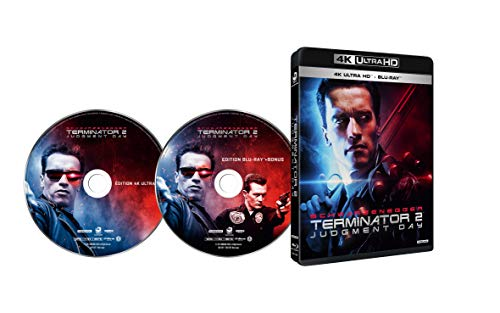 【Amazon.co.jp限定】ターミネーター2 (4K Ultra HD Blu-ray Ultra HD Blu-ray +Blu-ray 2枚組)(A3ポスター付)