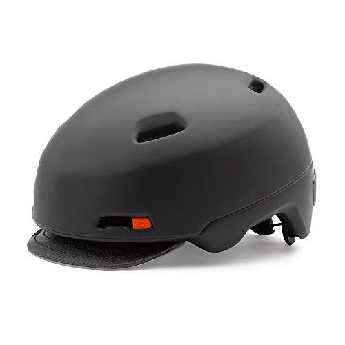 GIRO(ジロ) ヘルメット 街乗り・通勤に アーバンライドで必要なあらゆる機能を搭載 SUTTON MATTE BLACK Mサイズ 【日本正規品/2年間保証】  M