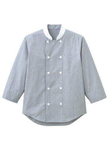 """[해외][페이스 믹스] FACE MIX 요리사 셔츠 (남여) 섬세한 줄무늬 코드 레인 """"051-FB4514U""""/[Face Mix] FACE MIX Cock Shirt (Unisex) Cord Lane of Delicate Stripe Pattern """"051 - FB 4514 U"""""""