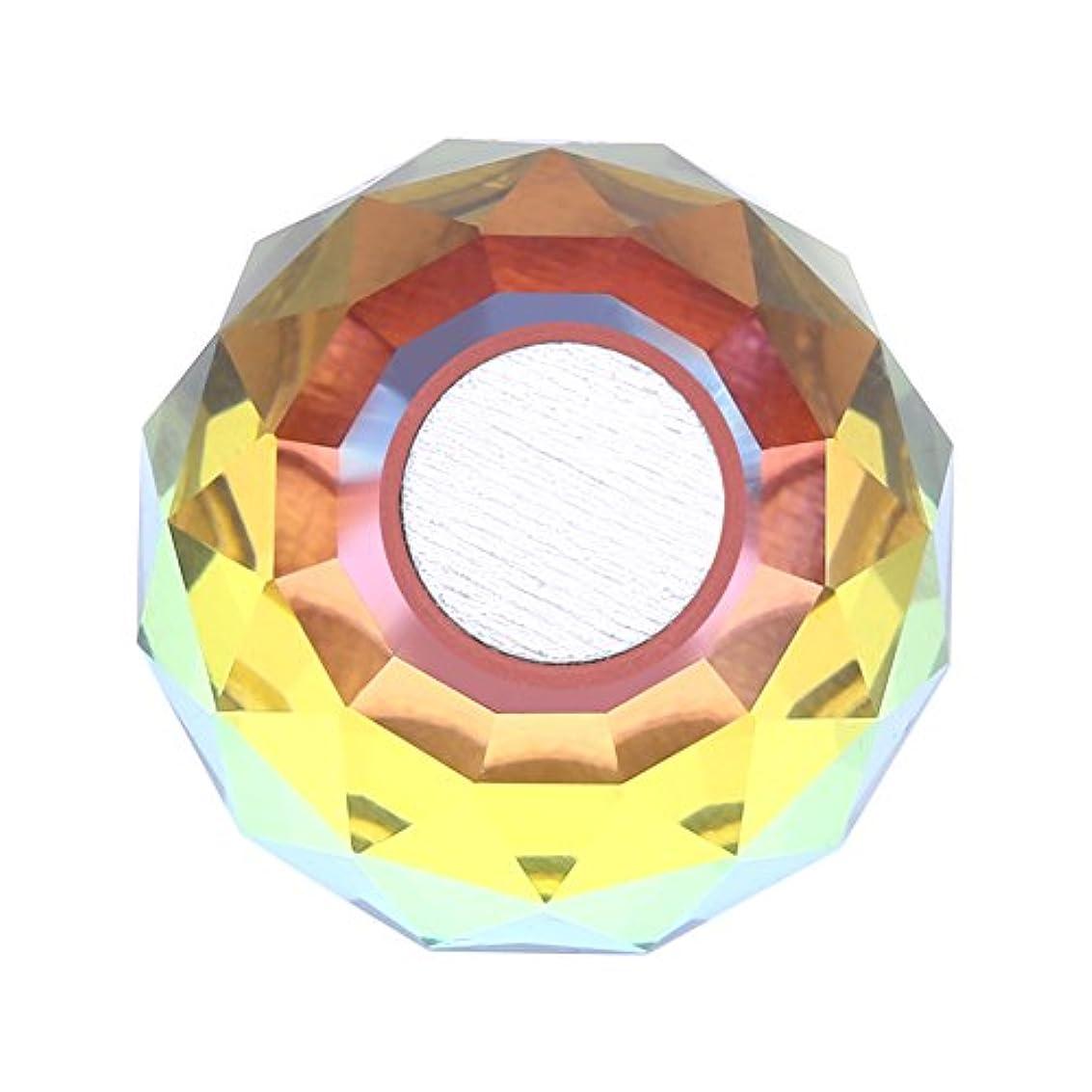 栄養ホストホームレス磁気ネイルチップスタンドホルダー サロンDIYと実践マニキュアのための合金ネイルアートディスプレイチップホルダー(1)